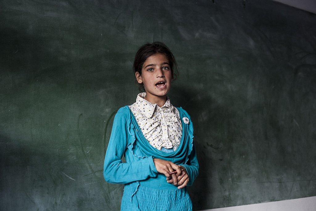 School for refuggee Syrian  children