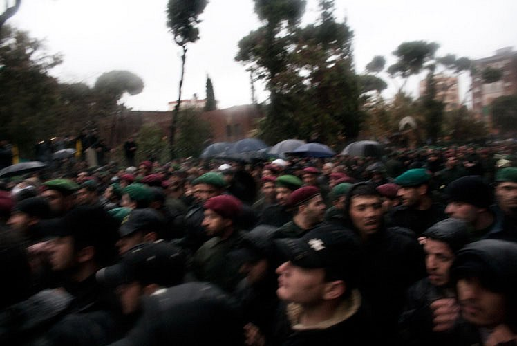 """Funerals after the assasination in Damascus Imad Mughniyah """"The Fox"""""""